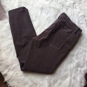 Loft corduroy modern skinny jeans size 6